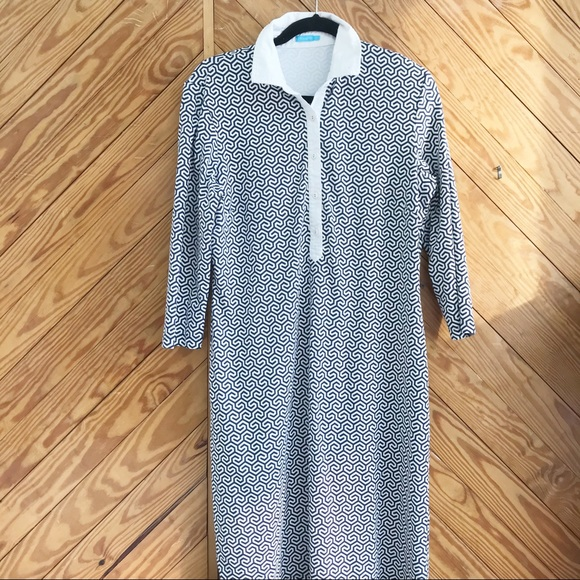 J. McLaughlin Shirt Dress Catalina